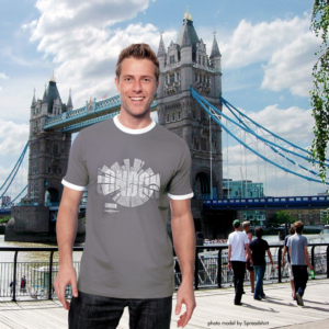 Map of London T-Shirt for men by ShirtUrbanization