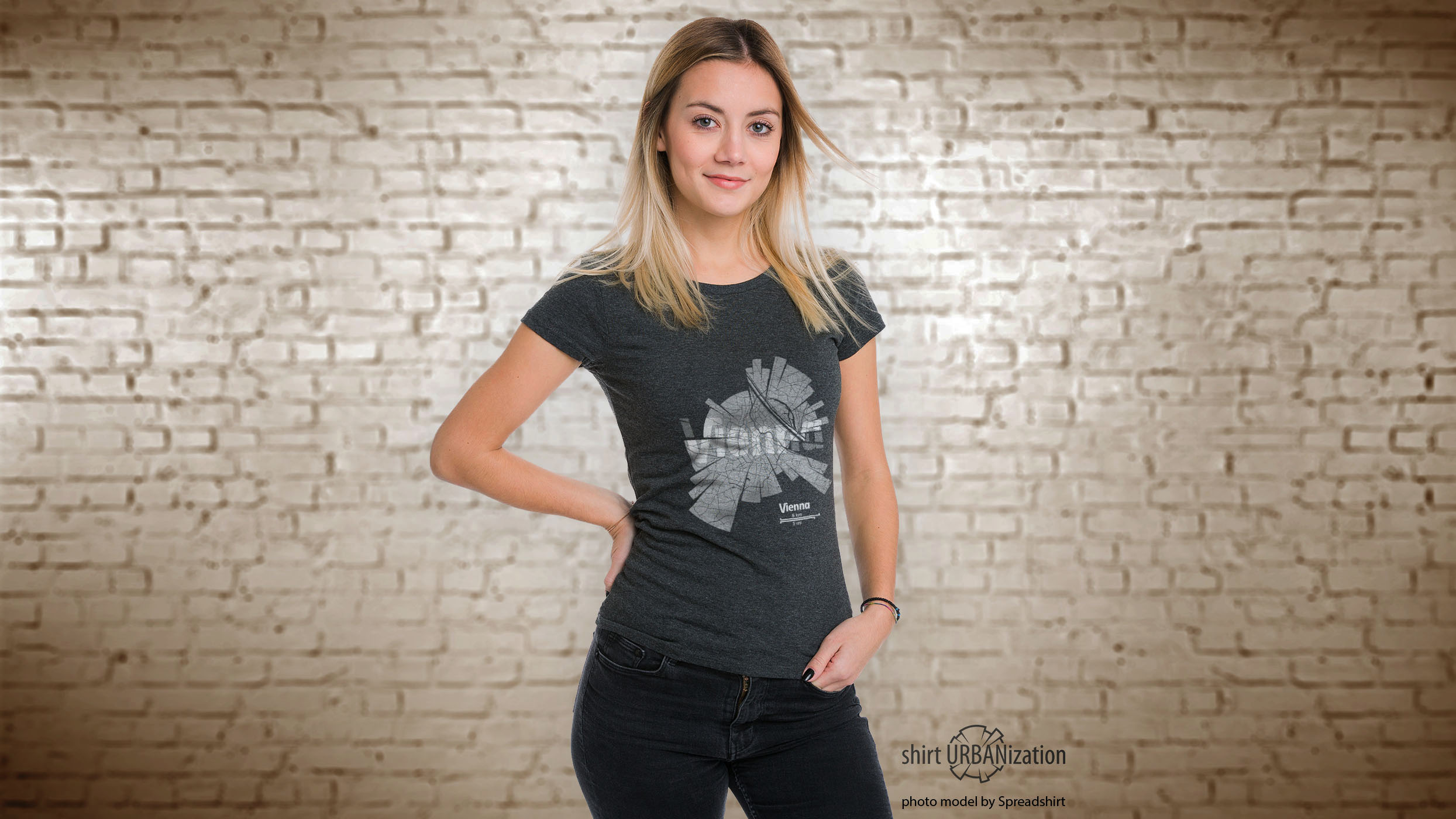 Girl with Vienna T-Shirt